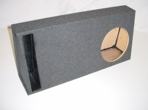 Custom Subwoofer Boxes - Slotted Truck - Audio Dynamics - Audio Dynamics [35-1x12SPL] Single Slot Ported Truck Box 1.81 Cu. Ft, 37 Hz Sub Box