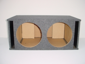 Custom Subwoofer Boxes - Slotted Port - Audio Dynamics - Audio Dynamics [HB39 2x15SPL] Doul 15 Slot Ported Sub Box