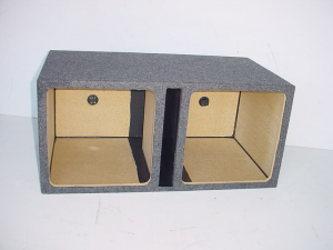 Custom Subwoofer Boxes - Slotted Port - Audio Dynamics - Audio Dynamics [HB35 2x15L7] Dual 15'' Kicker L7 Sloted Port Sub Box