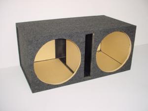 Custom Subwoofer Boxes - Slotted Port - Audio Dynamics - Audio Dynamics [HB 2x15 SPL] Dual 15'' Slot Ported Sub Box
