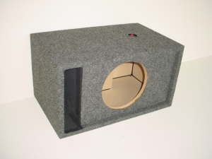 Custom Subwoofer Boxes - Slotted Port - Audio Dynamics - Audio Dynamics [HB 19 1x10 S] Single 10'' Slot Ported Sub Box