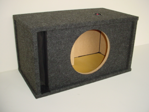 Custom Subwoofer Boxes - Slotted Port - Audio Dynamics - Audio Dynamics [HB27-1X12SPL] Single 12'' Slot Ported