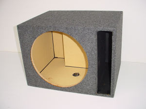 Custom Subwoofer Boxes - Slotted Port - Audio Dynamics - Audio Dynamics [HB 1x15 SPL] Single 15'' Slot Ported Sub Box