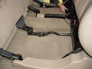 Custom Subwoofer Boxes - Chevy / GMC - Audio Dynamics - Audio Dynamics [GM-11] 2001-2007 Chevy Crew Cab HD Downfire Sub Box 2X12
