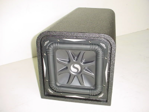 Custom Subwoofer Boxes - Slotted Port - Audio Dynamics - Audio Dynamics [SL7POLY8''sp] Single 8'' Kicker L7 Pro Poly Sub Box