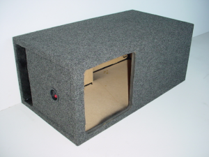 Custom Subwoofer Boxes - Slotted Port - Audio Dynamics - Audio Dynamics [HB 32112L7] Single Kicker Solobaric L7 12'' Sub Box