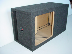 Custom Subwoofer Boxes - Slotted Port - Audio Dynamics - Audio Dynamics [HB 32115 L7] Single Kicker Solobaric L7 15'' Sub Box
