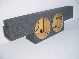 Audio Dynamics - Audio Dynamics [06chcrewrrc] 2001-2007 Chevy Crew Cab Non HD Rear Seat Sub Box