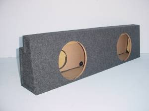 Audio Dynamics - Audio Dynamics [01-06chvyscr] 2001-2007 Chevy Crew Cab Non HD Rear Seat Sub Box