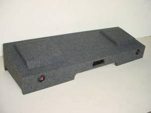 Audio Dynamics - Audio Dynamics [08chcrewport] 2008 Up Chevy-Gmc Crew Cab Dual 10'' or 12'' Ported Sub Box