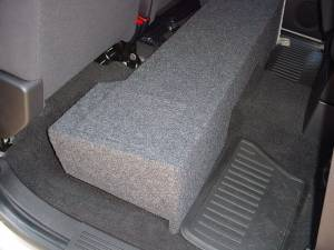 Audio Dynamics - Audio Dynamics [07CHSI210POL] 2007 Chevy Silverado Ext. Cab 2-10'' D.F Poly Sub Box