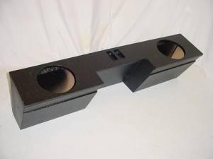 Custom Subwoofer Boxes - Chevy / GMC - Audio Dynamics - Audio Dynamics [GM-05] 99-2006 Chevy Ext. Cab 2-10'' Ported Poly Subwoofer Box sub box
