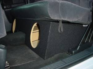 Custom Subwoofer Boxes - Chevy / GMC - Audio Dynamics - Audio Dynamics [GM-02] 99-2006 Chevy Extended Cab 2-10'' FF Sub Box