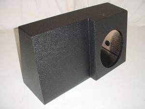 Custom Subwoofer Boxes - Dodge - Audio Dynamics - Audio Dynamics [sindgeregpol] Single 10'' or 12'' Dodge Reg Cab Poly Subwoofer Box Sub Box