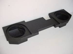 Custom Subwoofer Boxes - Dodge - Audio Dynamics - Audio Dynamics [0207dgq12pol]  2002-2008 Dodge Quad Cab 2-12'' Vented Poly Sub Box