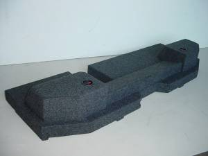 Custom Subwoofer Boxes - Dodge - Audio Dynamics - Audio Dynamics [09dgeqjumo] 2009-2014 Dodge Ram Quad Cab Jumbo Sub Box