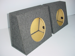 Custom Subwoofer Boxes - Universal Truck - Audio Dynamics - Audio Dynamics [2112DEEP] 2110-12 DEEP Price For Pair Sub Box