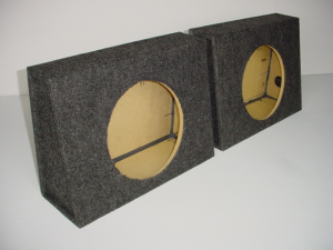 Custom Subwoofer Boxes - Universal Truck - Audio Dynamics - Audio Dynamics [2112SS] 2110-12 SS (Price For Pair) Sub Box