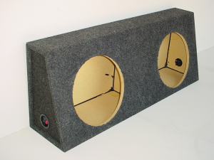 Custom Subwoofer Boxes - Universal Truck - Audio Dynamics - Audio Dynamics [3108-10-12] 3108-10-12 Sub Box
