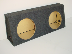 Custom Subwoofer Boxes - Universal Truck - Audio Dynamics - Audio Dynamics [3712] 3710 -12 Sub Box