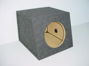 """Custom Subwoofer Boxes - Hatchback/Trunk - Audio Dynamics - Audio Dynamics [HB 1410 SL] Single 10"""" Hatchback / Trunk Sub Box"""