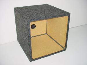Custom Subwoofer Boxes - Hatchback/Trunk - Audio Dynamics - Audio Dynamics [HB SOLO 12 L] Single 12'' Kicker Solobaric L7 Sub Box