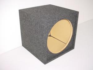 Custom Subwoofer Boxes - Hatchback/Trunk - Audio Dynamics - Audio Dynamics [HB SOLO15] Single Square 15'' Sealed Sub Box