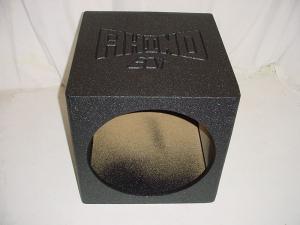 Custom Subwoofer Boxes - Hatchback/Trunk - Audio Dynamics - Audio Dynamics [SOLO18] Single18poly