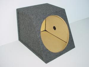 Custom Subwoofer Boxes - Hatchback/Trunk - Audio Dynamics - Audio Dynamics [HB 1615 SS] Slanted Sealed 15'' Sub Box