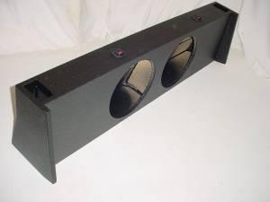 Custom Subwoofer Boxes - Ford - Audio Dynamics - Audio Dynamics [FD-127] 09-16 Ford F150 Super Crew Cab Ported Pro-Poly Sub Box 2X12