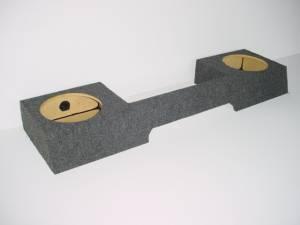 "Custom Subwoofer Boxes - Ford - Audio Dynamics - Audio Dynamics [97FORD2-10] 1997 Ford Extended Cab 3-Door 2-10"" Sub Box"