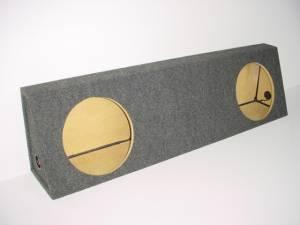 Custom Subwoofer Boxes - Ford - Audio Dynamics - Audio Dynamics [FORDFSERIES] 1999-2003 Ford F Series Standard FF Sub Box