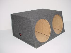 Custom Subwoofer Boxes - Hatchback/Trunk - Audio Dynamics - Audio Dynamics [HB 3212 SUB] Dual 12'' Sealed Box