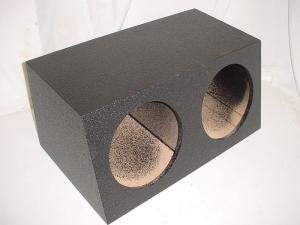 Custom Subwoofer Boxes - Hatchback/Trunk - Audio Dynamics - Audio Dynamics [hb3012slpoly] Dual 12'' Sealed Poly Subwoofer Box Sub Box