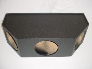 Custom Subwoofer Boxes - Hatchback/Trunk - Audio Dynamics - Audio Dynamics [3x12jumpoly] 3x12'' Jumbo Pro Poly Sub Box