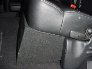 Custom Subwoofer Boxes - Ford - Audio Dynamics - Audio Dynamics [FD-106] 2004-2008 Ford F150 Ext. Cab or Super Crew Cab Dual 12'' Sub Box