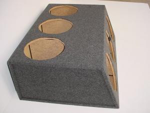 Custom Subwoofer Boxes - Hatchback/Trunk - Audio Dynamics - Audio Dynamics [HB39-6x12] 6-12'' Sealed Sub Box