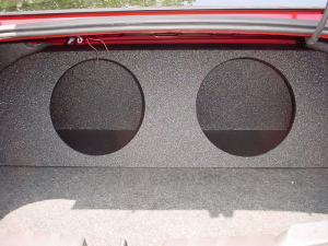 Audio Dynamics [CAM-106] 2010-2012 and Chevy Camaro Poly Trunk Sub Box