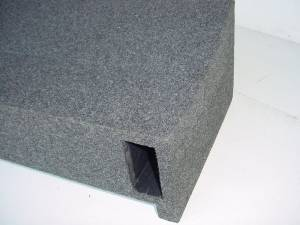 Audio Dynamics - Audio Dynamics [09fordport] 2009+ Ford F-150 Super Crew Cab Single Ported Sub Box
