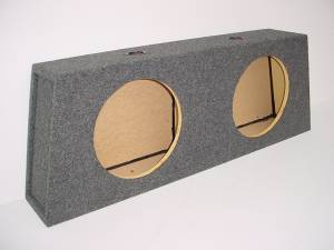 Custom Subwoofer Boxes - Ford - Audio Dynamics - Audio Dynamics [95-04MUST.CO] 1995-2004 Mustang Convertible Sub Box