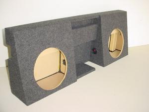 Custom Subwoofer Boxes - Toyota - Audio Dynamics - Audio Dynamics [TOY-402] 05-15 Toyota Tacoma Double Cab 2-12'' Sub Box