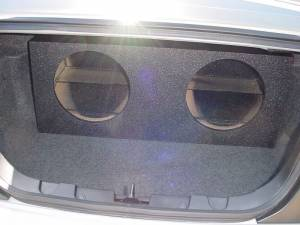 Custom Subwoofer Boxes - Ford - Audio Dynamics - Audio Dynamics [FD-120] 2005-2009 Ford Mustang Pro-Poly Jumbo Sub Box 2X12