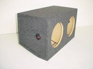 Audio Dynamics - Audio Dynamics [05mustang] 2005-2009 Mustang Dual 12'' or 10'' Sub Box