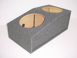 "Custom Subwoofer Boxes - Ford - Audio Dynamics - Audio Dynamics [MUSTANG2-12] Dual 12"" Ford Mustang 1995-03 Custom Fit Sub Box"