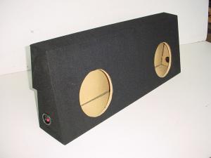 Audio Dynamics - Audio Dynamics [02toyocrewju] 2007-2008 Toyota Tundra Crew Max Jumbo Sub Box
