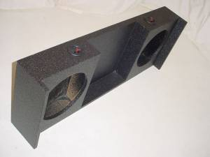 Custom Subwoofer Boxes - Jeep - Audio Dynamics - Audio Dynamics [07jeepwrang] 2007 Up Jeep Wrangler Poly with Amp. Rack Sbwoofer Box Sub Box