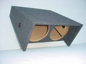 "Custom Subwoofer Boxes - Jeep - Audio Dynamics - Audio Dynamics [JEEP-601] Jeep Wrangler 2-10"" - All Years CJ5 - CJ7 Sub Box"