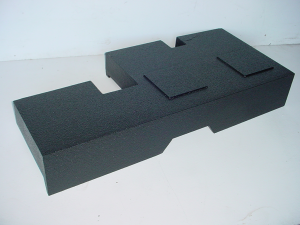 Custom Subwoofer Boxes - Toyota - Audio Dynamics - Audio Dynamics [TOY-403] 2007-2013 Toyota Tundra Duble Cab Dual Poly Sub Box 2X10