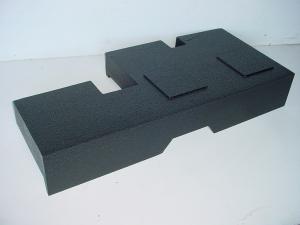 Custom Subwoofer Boxes - Toyota - Audio Dynamics - Audio Dynamics [TOY-404] 2007-2013 Toyota Tundra Duble Cab Dual Poly Sub Box 2X12
