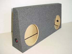 Audio Dynamics - Audio Dynamics [08toytundc] 2008 and Up Toyota Tundra Regular Cab Sub Box